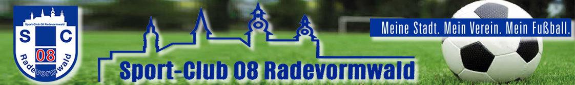 Homepage des Sport-Club 08 Radevormwald